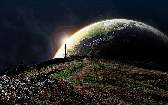 Earthrise by Phil Child