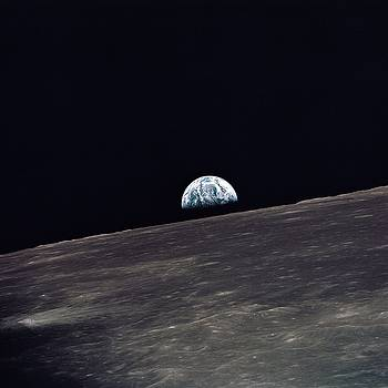 Earthrise by Space Photography
