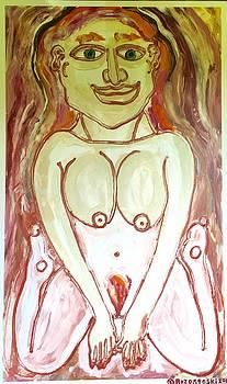 Earth's Mother Goddess by Matthew Brzostoski