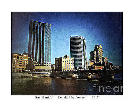 East Bank V by Donald Yenson