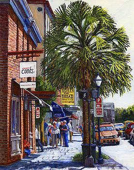 East Bay St. Charleston SC by Thomas Michael Meddaugh