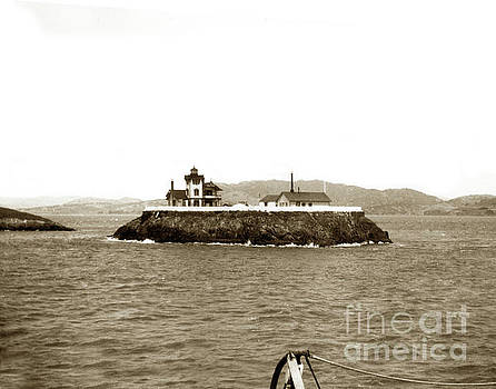 California Views Archives Mr Pat Hathaway Archives - East Brother Island Lighthouse Circa 1890