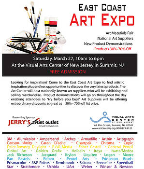 East Coast Art Expo by Jerrys Artist Outlet