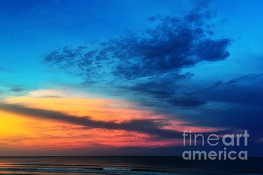 East Coast Sunset by Donna Cain