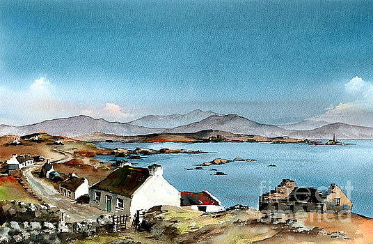 East end, Inishboffin, Galway by Val Byrne