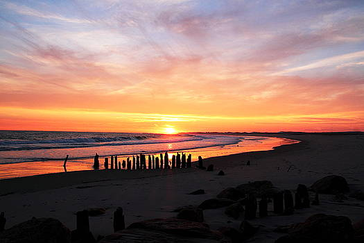 East End Sunset by Linda C Johnson