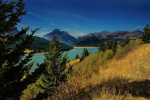 East Glacier Lake by Roy Nierdieck