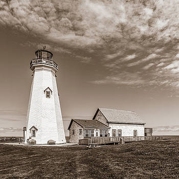 East Point Lighthouse by Chris Bordeleau