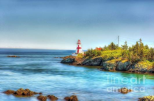East Quaddy light House by Arnie Goldstein