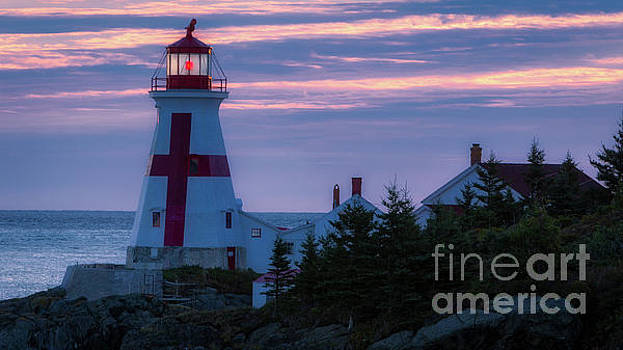 East Quoddy Lighthouse Sunrise by Jerry Fornarotto