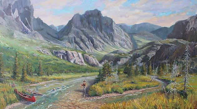 East Rosebud Montana by Steve Haigh