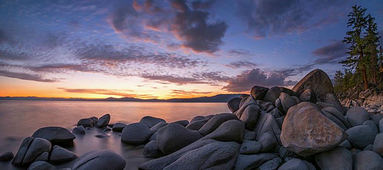 East Shore Cove Panorama by Brad Scott by Brad Scott