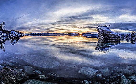 East Shore Sunset by Martin Gollery