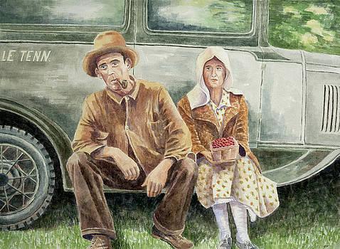 East Tennessee Blues by Paula Blasius McHugh