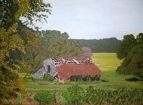 East Texas Old Barn by RE   Ruth Thomas
