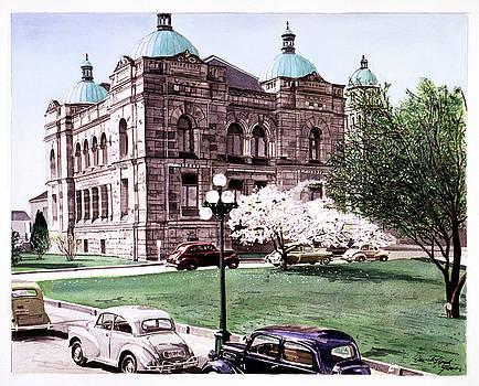 East Wing Legislative Buildings by David Lloyd Glover