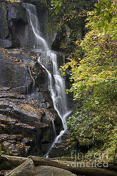 Jill Lang - Eastatoe Falls in North Carolina