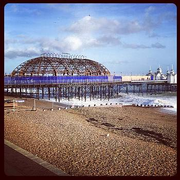 #eastbourne #pier #eastbournepier #sea by Natalie Anne