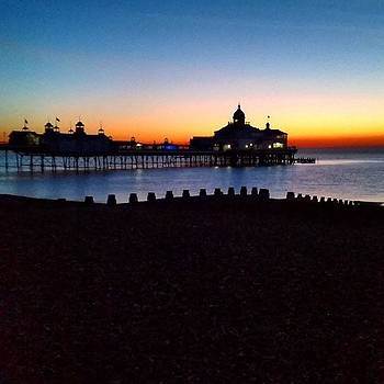 #eastbournepier #sunrise #seaside #sea by Natalie Anne