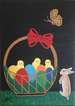 Easter basket  by Catherine Velardo