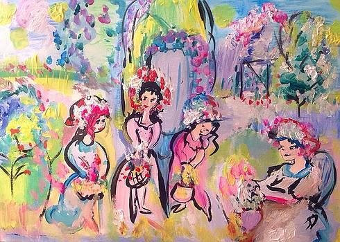 Easter basket dance  by Judith Desrosiers