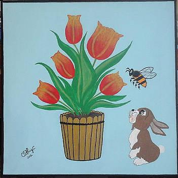 Easter Bunny by Catherine Velardo