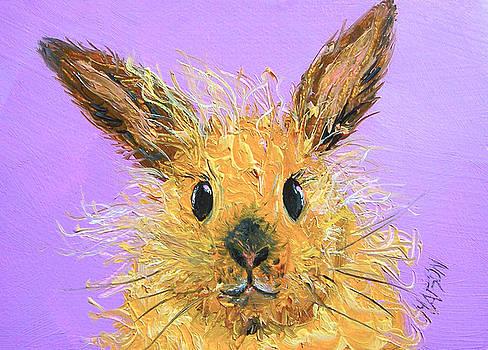 Jan Matson - Easter Bunny  Painting - Poppy