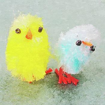Easter Chick Duo I by Pekka Liukkonen