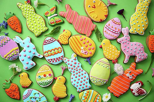 Easter cookies by Iuliia Malivanchuk