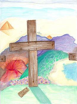 Easter Cross by Shelby Davis