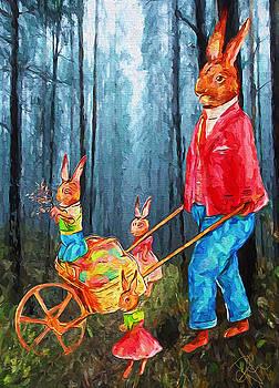 Easter Egg Hunt by Pennie McCracken