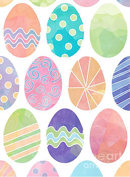 Easter Eggs 1 by Whitney Morton
