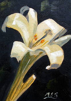 Easter Lilly by Maria Soto Robbins