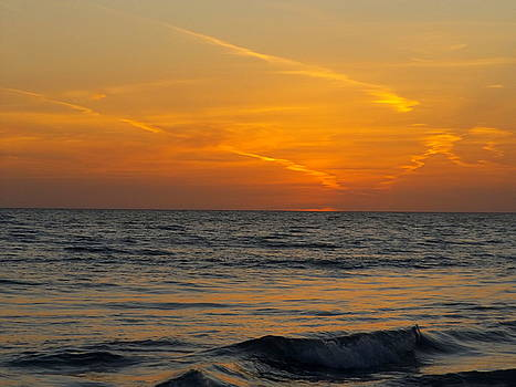 Easter Sunset by Julie Pappas