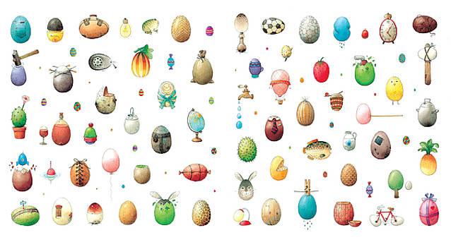 Kestutis Kasparavicius - Eastereggs