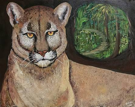 Eastern Cougar by Deyanira Harris