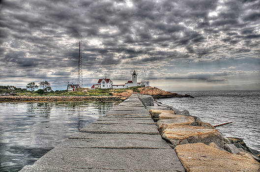 Eastern Point Lighthouse by Liz Mackney