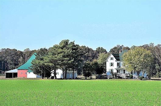 Eastern Shore Farm by Kim Bemis