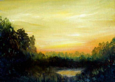 Eastern Shore Sunrise by Katy Hawk