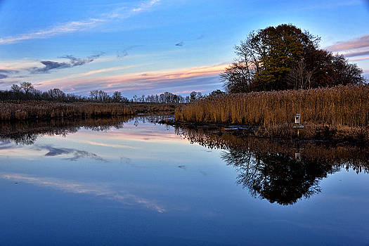 Eastern Shore Sunset - Blackwater National Wildlife Refuge by Brendan Reals