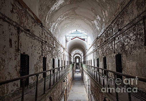 Eastern State Penitentiary Cell  by Valerie Morrison