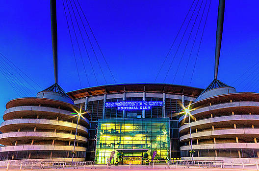 Eastlands - Home of Manchester City by Neil Alexander