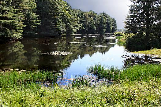 Easton Reservoir 1 by Linda Clearwater