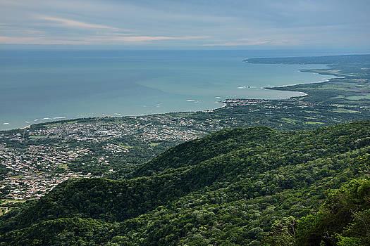 Reimar Gaertner - Eastward view of Atlantic shore of Puerto Plata from Mount Isabe
