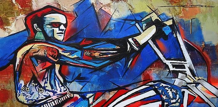 Eric Dee - Easy Rider Captain America