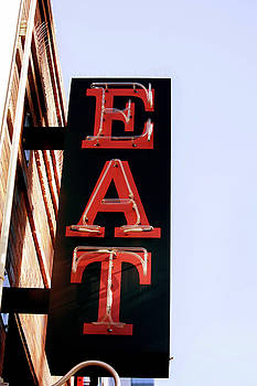 Art Block Collections - Eat Sign - Austin Texas