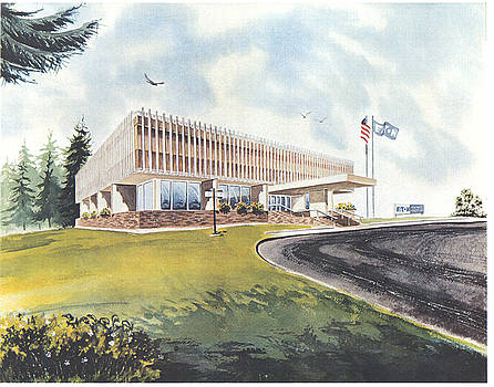 Eaton Corp Administration Building by Dale Turner
