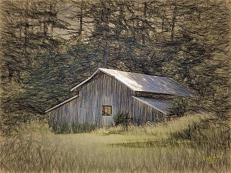 Ebey's Bluff Barn by Rick Lawler