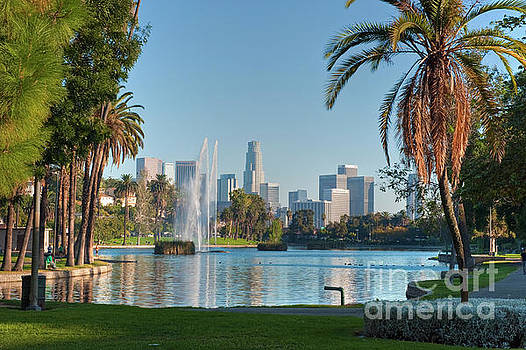 David Zanzinger - Echo Park Downtown Los Angeles 2