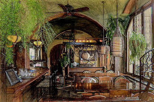 Eclectic Cafe by Jeffrey Hamilton